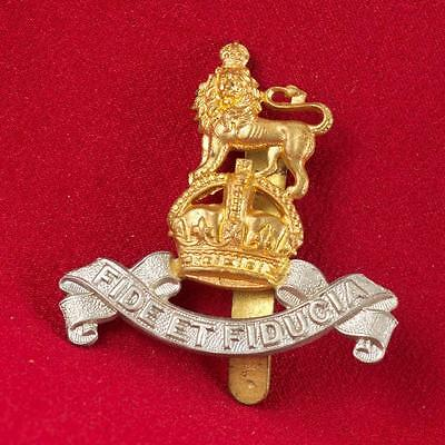 Gb-Wwii - Royal Army Pay Corps Cap Badge - Fine Kk2133 (Item 036B