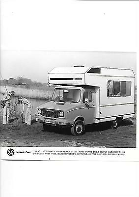 Leyland Sherpa Ci Autohomes Highwayman Motor Caravan  'brochure' Press Photo