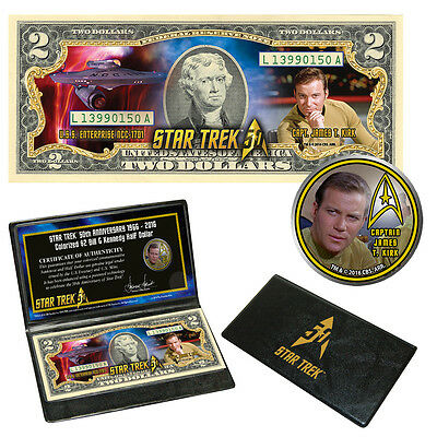 """Star Trek""""  Coin & Currency Collection - KIRK"""