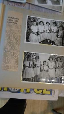 Scrapbook 1961 to 1962  in Hinsdale IL from a  Young Girl