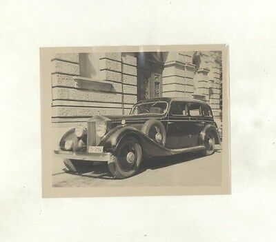 1934 ? Rolls Royce Phantom II Saloon ORIGINAL Photograph ww5787