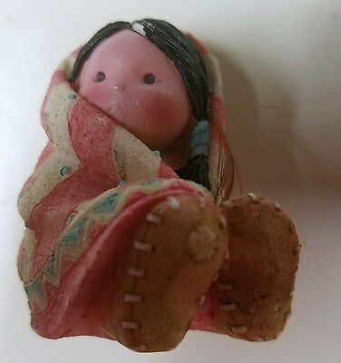 Friends of the Feather Wrapped in Love Enesco Figurine 1994 Karen Hahn 115649