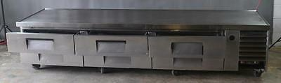 "Used True TRCB-110 110"" Refrigerated Chef Base, Excellent Working Condition, Fre"
