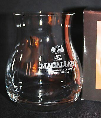 Macallan Official Glencairn Canadian Whisky Glass  ( Scotch Whisky )
