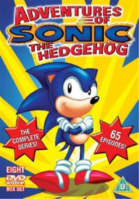Adventures of Sonic the Hedgehog: Complete Series  DVD NEW