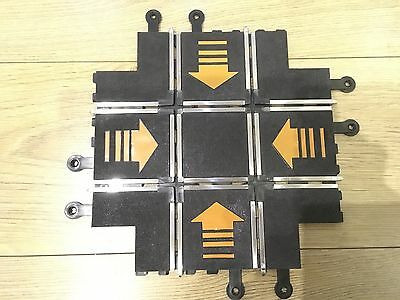 Scalextric Classic Track Rare Pt83 C249 Right Angle Crossover Mint Condition
