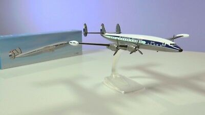 PPC KLM Lockheed L-1049 Super Constellation Desk Display Model 1/125 AM Airplane