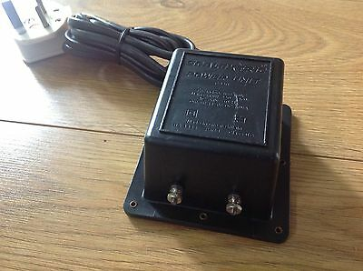 Scalextric Classic C920 Power Transformer Adaptor Tested Exc Condition