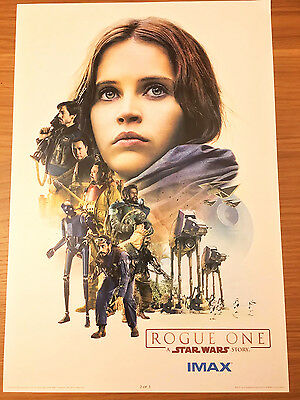 Original Star Wars Rogue One IMAX Week 2 Limited Edition Poster