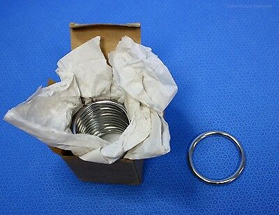 """12 each Grieshaber Surgical Stainless Steel Rings 2-1/4"""" OD x 1-13/16"""" ID New"""