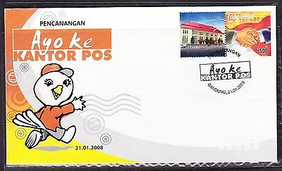 Indonesia 2008 -  POS Ayoke Kantor First Day Cover
