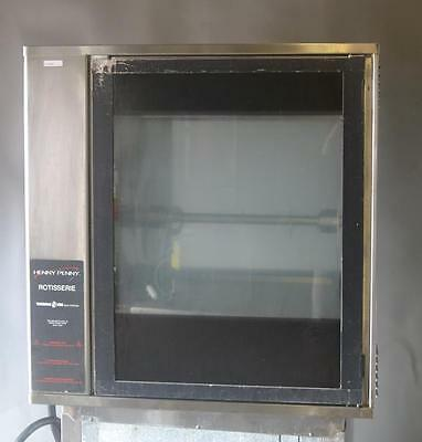 Used Henny Penny SCR-6 Electric Countertop Rotisserie Oven Free Shipping!