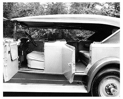 1927 Packard 8-443 Fleetwood Touring Body Chassis ORIGINAL Factory Photo ouc0033