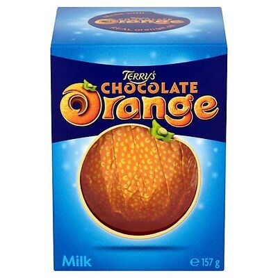 Terry's Chocolate Orange - Milk, White, Exploding Candy - British Chocolate