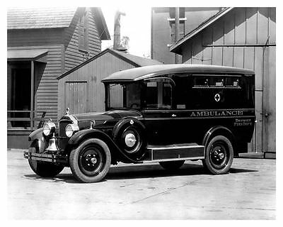 1927 Packard Fourth Series Six Ambulance ORIGINAL Factory Photo ouc0163