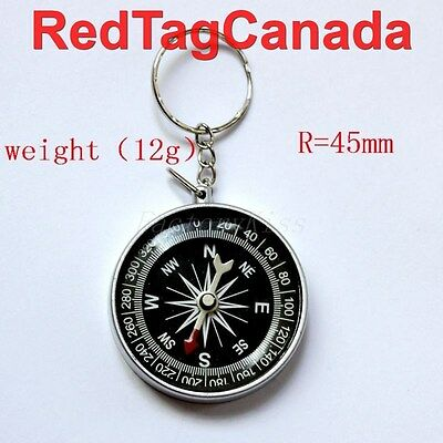 Compass Camping Hiking Hunting Key Chain Ring Survival - Canada