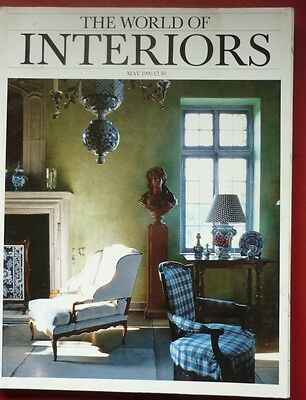 World of Interiors Magazine May 1990