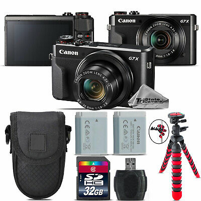 Canon PowerShot G7 X Mark II Digital DIGIC 7  WiFi Camera + Tripod - 32GB Kit