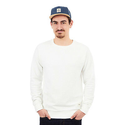 Wemoto - Kenny Reversed Sweater Off White Pullover Rundhals