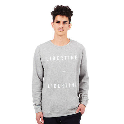 Libertine-Libertine - East Sweater Grey Mel. W. Art 3 Pullover Rundhals