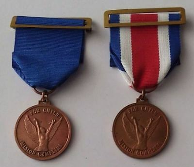 Chile Medal Army Mision Cumplida Government Pinochet