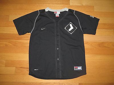 Youth Genuine Merchandise Nike Team Fit Dry Chicago White Sox Jersey Shirt Med M
