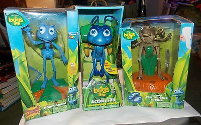 Disney A Bug's Life Electronic Talk n Dance Hopper Action Flik Room Guard NEW
