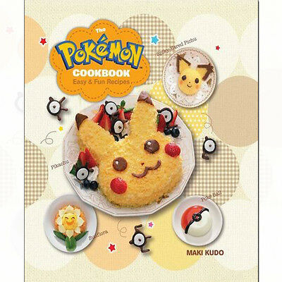 Pokémon Cookbook: Easy & Fun Recipes Book By Maki Kudo Hardcover NEW English