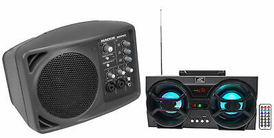 Mackie SRM150 Powered Active PA Monitor Speaker SRM-150+Free Bluetooth Speaker !