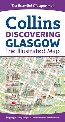 Discovering Glasgow Illustrated Map (Map), Beddow, Dominic, 9780007493821
