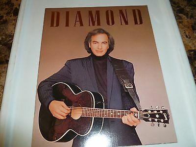 NEIL DIAMOND Concert Program BEST YEARS OF OUR LIVES Tour - 1988