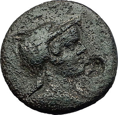 AMISOS in PONTUS 120BC Mithradates VI AMAZON Rare R1 Ancient Greek Coin i58339
