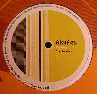 "Akufen - My Way The Remixes 12"" Fim 236 Force Inc 2003 Vg+!"