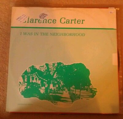 "Clarence Carter - I Was In The Neighborhood 12"" 12Lute2 Tout Ensemble 1986 Vg+!"