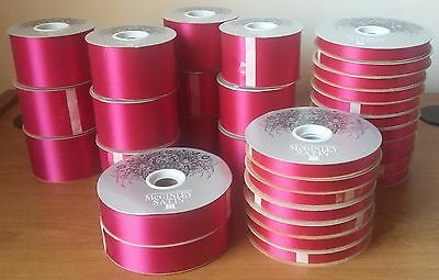 HUGE LOT NEW Florist Satin Ribbon #3 #9 #40 Forever Yours BELOW WHOLESALE!