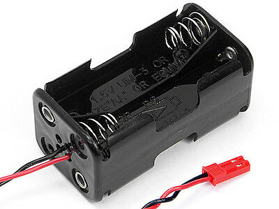 Hpi Racing Nitro Rs4 Mt 2 80576 Receiver Battery Case - Genuine New Part!