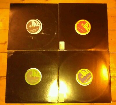 "4X12""s - Tal M. Klein-All On Aniligital Music- Alg-016/017/019/022 - All Nm!"