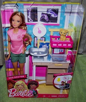 Barbie I can be....Zoo Doctor Doll New