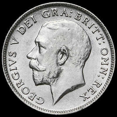 1918 George V Silver Sixpence – G/EF #2