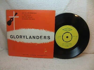 The Glorylanders – four-track Christian EP SECC 1000