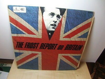 David Frost – The Frost Report on Britain 1966 LP Parlophone PMC 7005