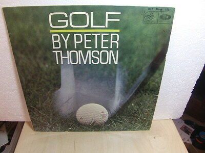 Golf – by Peter Thomson 1960s LP MFP 1081