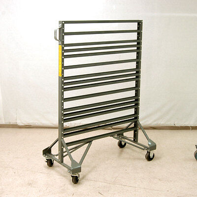 Akro-Mils 30016 Two Sided Rail Hanging System w/Casters and 16 Rails
