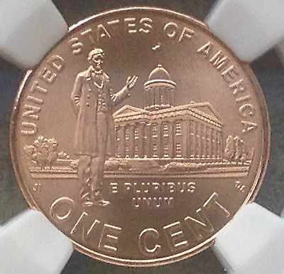2009 SMS Bronze Lincoln Cent Professional Life MS69 RD NGC
