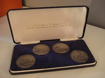 William James Dingley Sterling Silver Medal Medallions  History Of The Railways