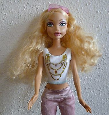 1999 Mattel My Scene Barbie Doll Kennedy w soft 5 changing expressions face