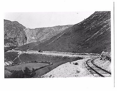 Narrow Gauge Railway Photograph. Unknown Steam Locomotive and Location.