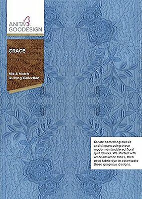Anita Goodesign GRACE Mix and Match Quilting Collection 323AGHD - NEW SEALED