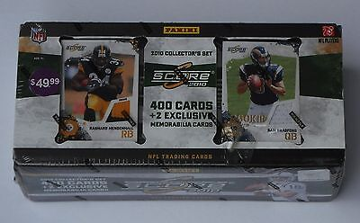 Panini Nfl Football Score 2010 Trading Card Collector's Set New & Sealed