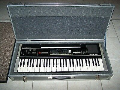 CASIOTONE - 1000P - Vintage Keyboard Synth With Case And Stand - Pick Up Only